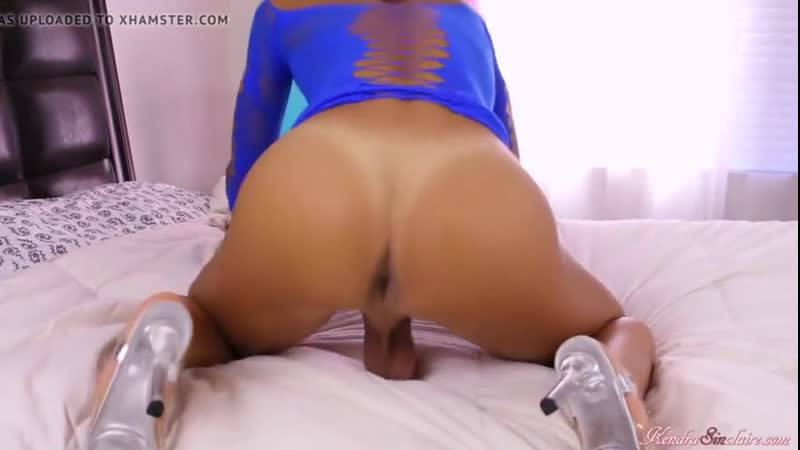 KENDRA SINCLAIRE Amazing ass, cock and balls GAY BOY SISSY ANAL PLEASURE
