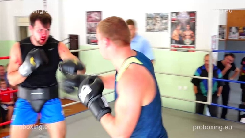 Boxing sparring 26.08.2016 Fight 3