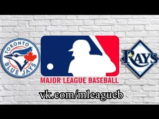 Toronto Blue Jays vs Tampa Bay Rays      AL   MLB 2018 (2/3)
