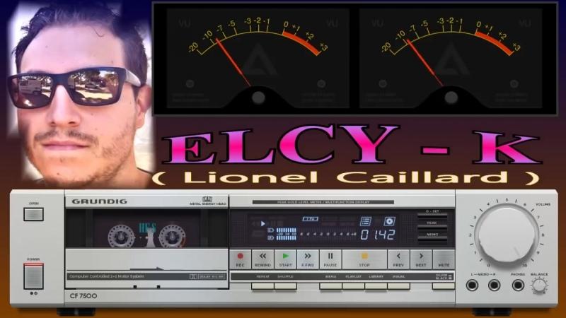 ELCY K Original 5 tracks by GRUNDIG CF 7500 sylver skin
