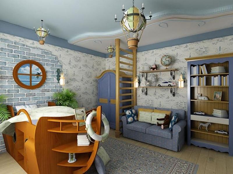 Дизайн интерьера в морском стиле, изображение №10