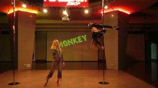 Лена Кабзон и Татьяна Новикова. Catwalk Dance Fest IXpole dance, aerial .