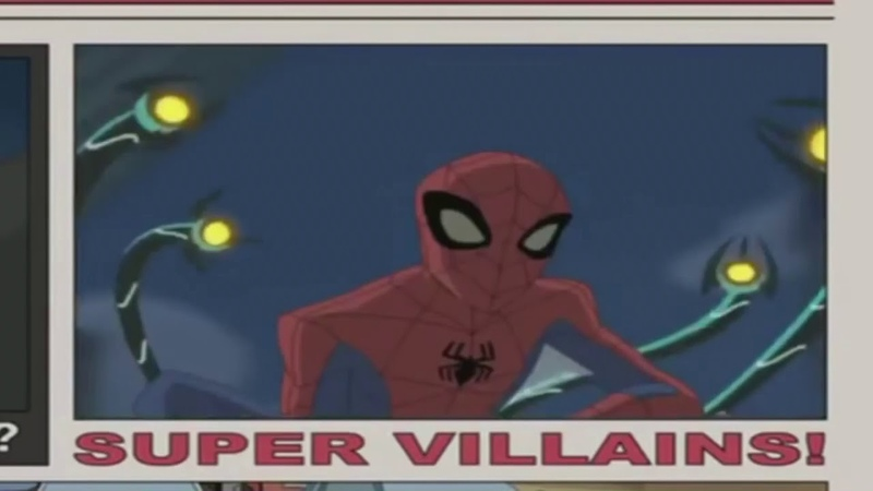 Грандиозный Человек паук 2008 2009 гг Заставка