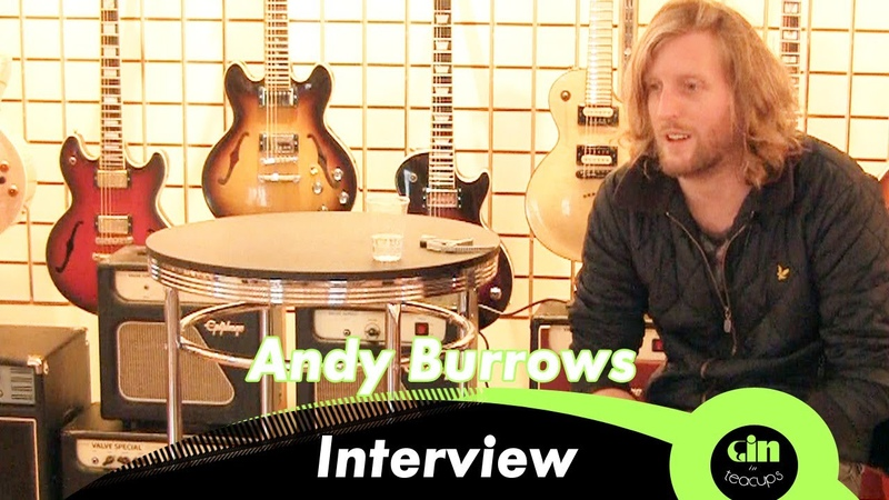 Andy Burrows Interview @ GiTC