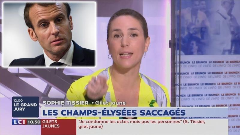 Grosse Colère de Tissier (Gilet Jaune) : «M. Macron mérite la prison !» (LCI,17/03/19, 10h49)