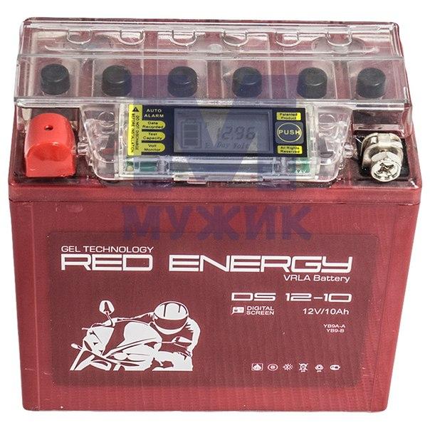Гелевый аккумулятор Red Energy 12V 10Ah – Мужик