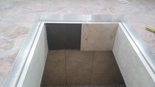 Скрытый люк в погреб своими руками: монтаж и отделка, изображение №11