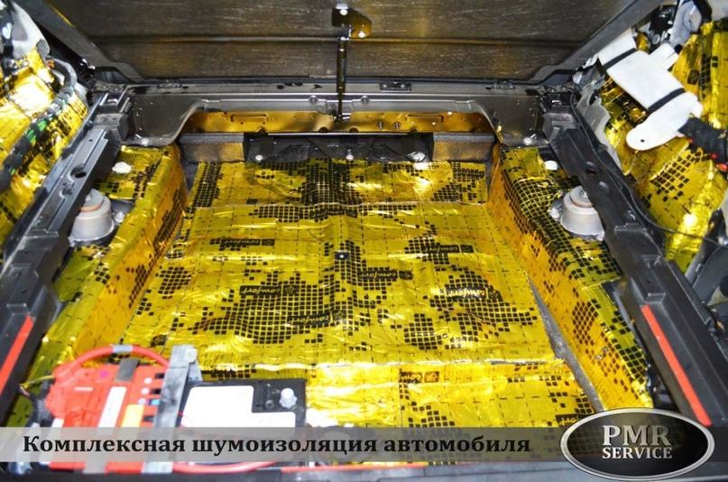 Шумоизоляция BMW X5, изображение №12