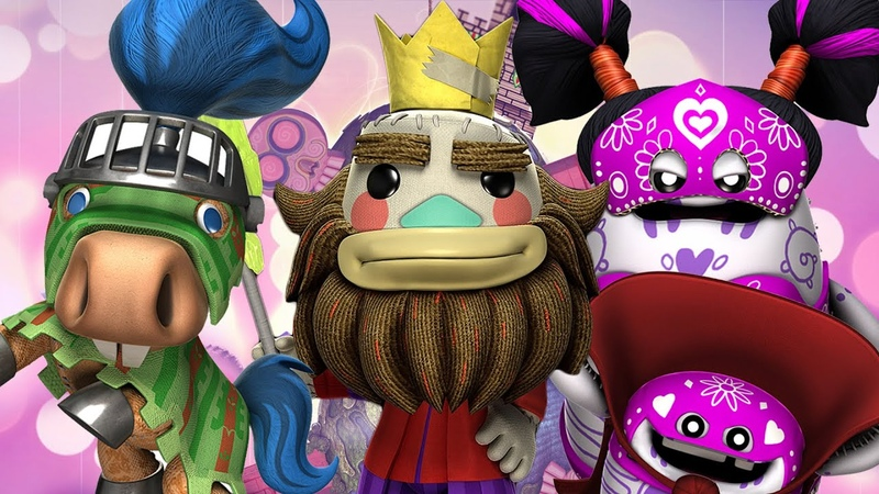 LittleBigPlanet 3 The Journey Home Showcase All Costumes and Level Kit Items LBP3 PS4