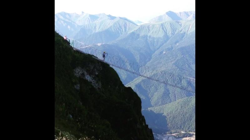 Роза Пик 2320 метров над уровнем моря