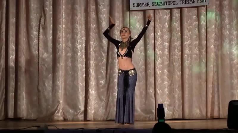 Ольга Касьяненко @ Гала-шоу 1ого международного трайбл-фестиваля в Севастополе 2013