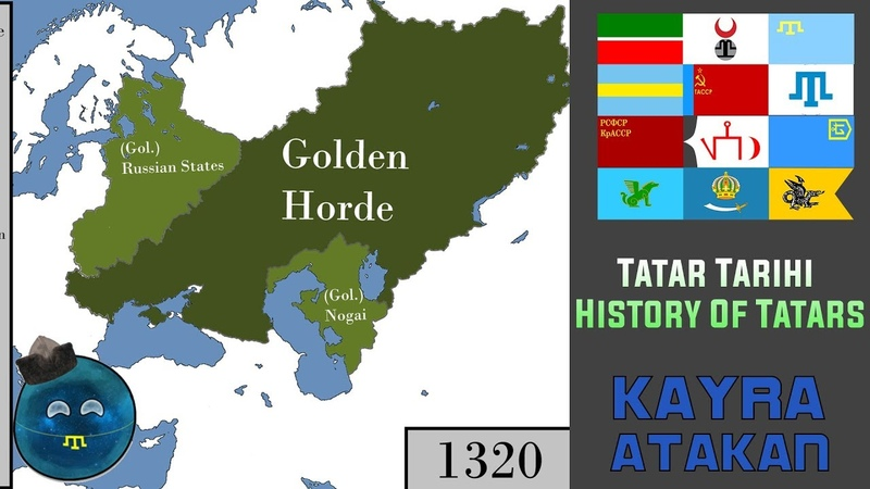 Tatar Türklerinin Tarihi History Of Tatar Turks