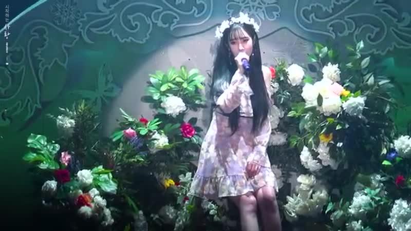 190215 겨울나라의 러블리즈3 개인무대 꽃길 유지애 직캠 Lovelyz Winterland 3 Yoo Jiae Solo Stage Fanc