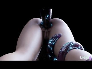 Alyx vance x tentacle anal beads