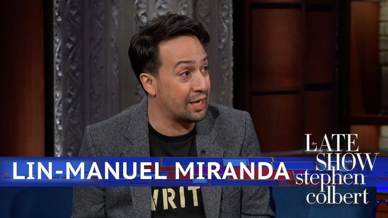 Lin Manuel Miranda On Hamilton In The US Vs. UK