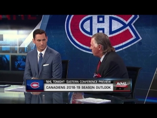 Nhl tonight season preview mtl oct 1, 2018