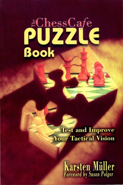 The ChessCafe Puzzle Book 1 Test and Improve Your Tactical Vision by Karsten Müller, Susan Polgar (Foreword)