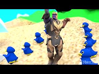 Танос, гарфилд, 33 кота, чел из истории игрушек и мужик из гта4 ЖЁСТКО ЛУПАСЯТ БАСЫ НА ПЛЯЖЕ ВО ВЬЕТНАМЕ