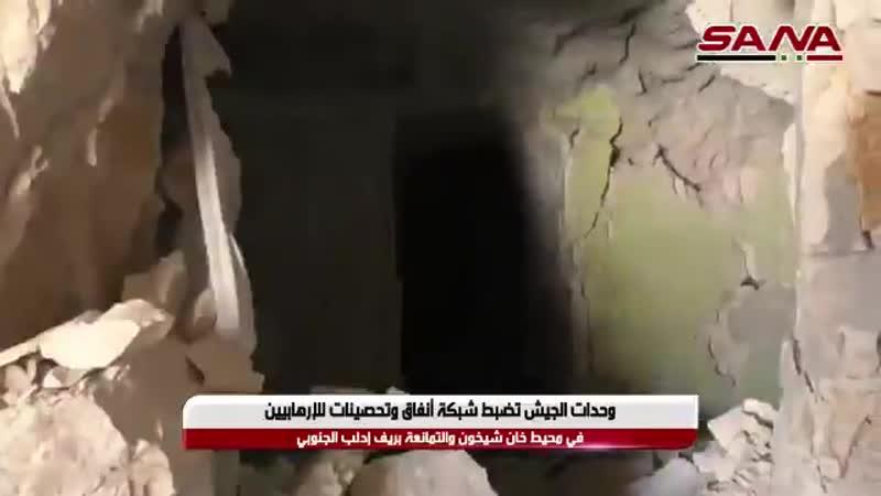 Сирия: Внутри заброшенной подземной базы Джайш Иззас в Северной Хама.Ущерб, нанесенный годами бомбардировок, в основном RuAF.