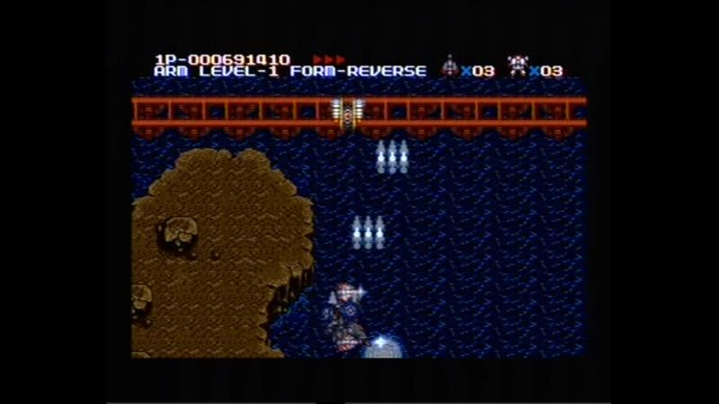 MUSHA Aleste Sega Mega Drive