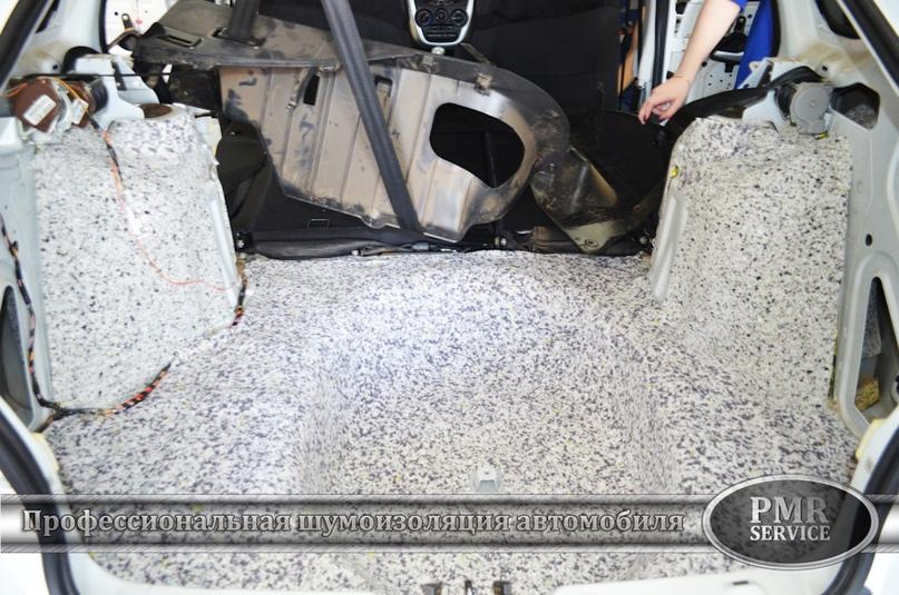Шумоизоляция Lada Granta, изображение №12