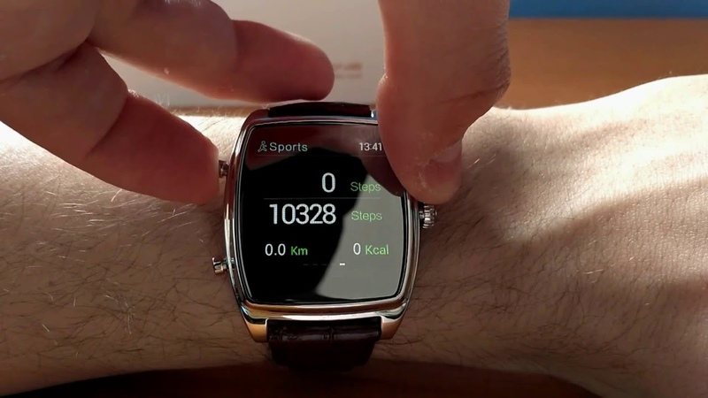 INew H-ONE health smartwatch (for android and iOS) - review