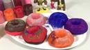 Делаем Разноцветные Блестящие Пончики Открываем 6 Сюрприз-Коробочек