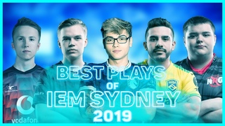 BEST PLAYS OF IEM SYDNEY 2019 CS:GO