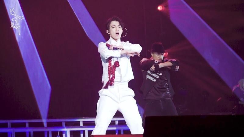 Fancam A Tribute To MJ Part1 迪玛希Dimash Димаш 05 01 2018 D dynasty Concert@ Fuzhou