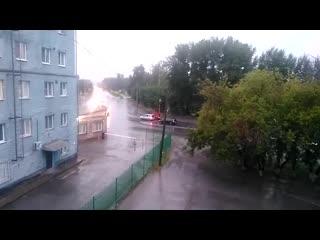 Под Красноярском произошел новый взрыв  начался пожар