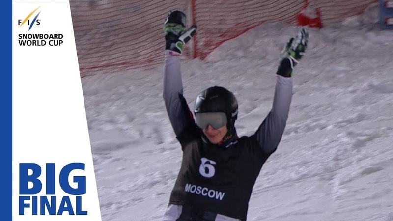 Sobolev vs Caviezel Big Final Moscow Men's PSL FIS Snowboard