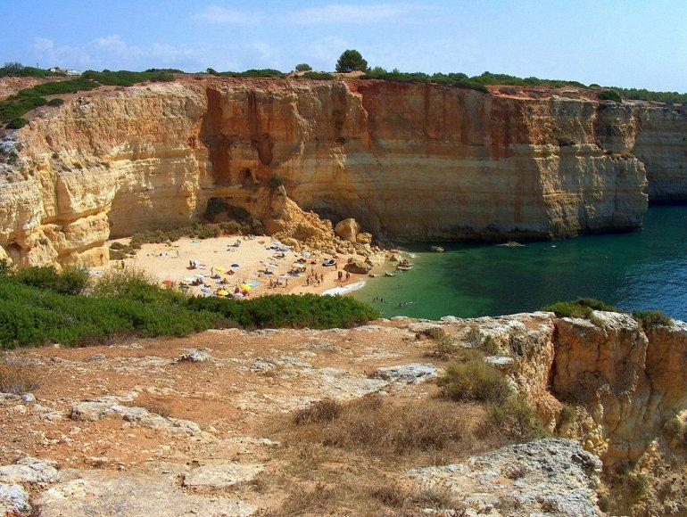 Алгар-де-Бенагил. Пляж в пещере. + Фото, изображение №7