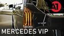 VIP Mercedes Benz V-class V-VIP Maybach - Перегородка в микроавтобус - Тюнинг салона Мерседес - ВИП