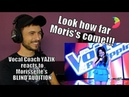 Vocal Coach YAZIK reacts to Morissette Amon Blind Audition on The Voice