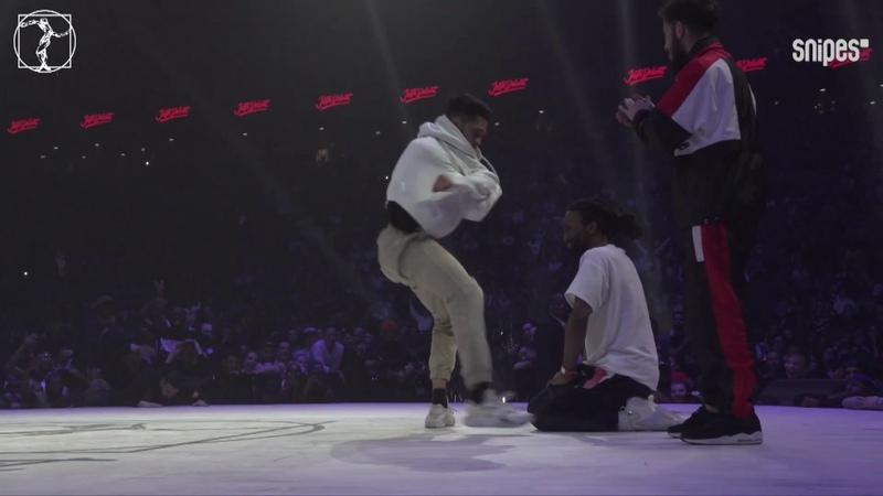 Hip hop semi final Juste Debout 2019 Waydi Rochka Criminalz vs Dykens Zyko Sarcellite