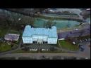 Усадьба Гончаровых в п. Полотняный завод. Аэросъёмка