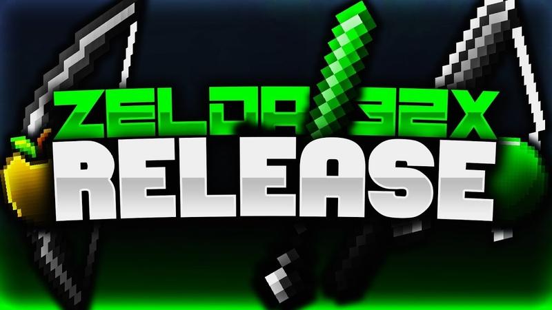 Zelda [32x] Revamp PvP Texture Pack Release [FPS Friendly] 👽