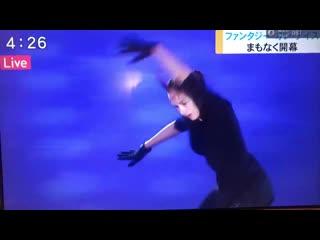 Алина Загитова 3Lz+3T+3Lo на тренировке - FaOI 2019 in Toyama - 14/06/2019