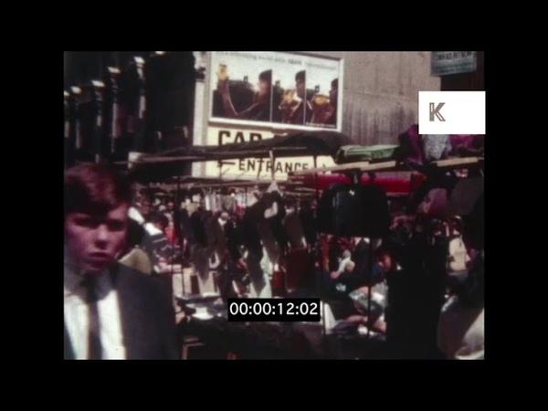 1960s UK London Market Stalls Bric a Brac Home Movies
