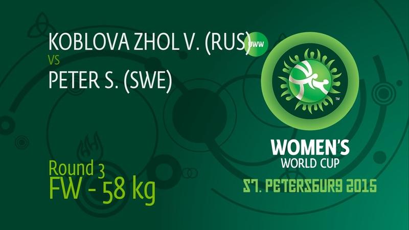 58 kg Valeria KOBLOVA ZHOLOBOVA RUS df Szilvia PETER SWE 8 0