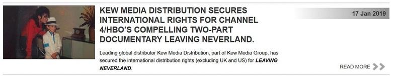 Как связаны Leaving Neverland и Kew Media Distribution (KMD)?, изображение №2
