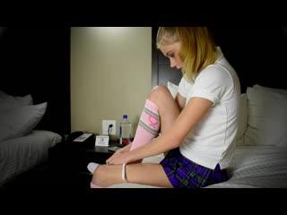 Hannah Hays - Submissive Teen Pov High School -Try Out - Parte 01 (Hannah Hays 18yo)