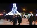 NGS live: открытие ледового городка на площади Ленина