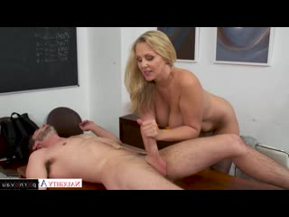 Lucas Frost, Bridgette B, Julia Ann In stockings, Mothers, Blondes, In pantyhose, In clothes, Cumshot in mouth, Beau