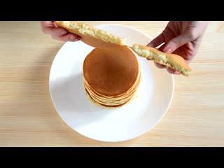 Панкейки или американские блинчики | Больше рецептов в группе Десертомания