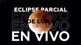El último eclipse lunar parcial de 2019 EN VIVO