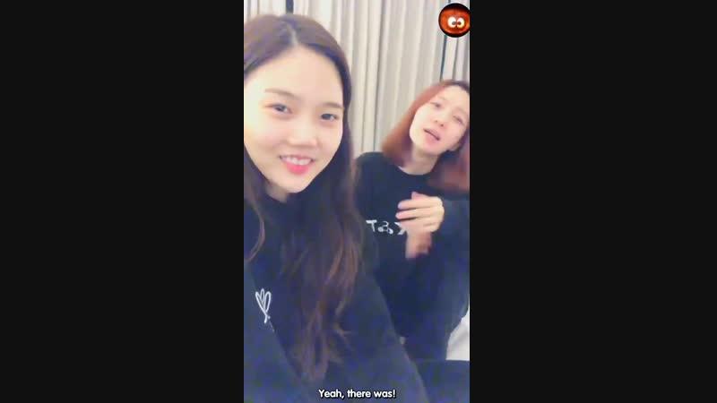 Binnie about kyungwon and minkyung