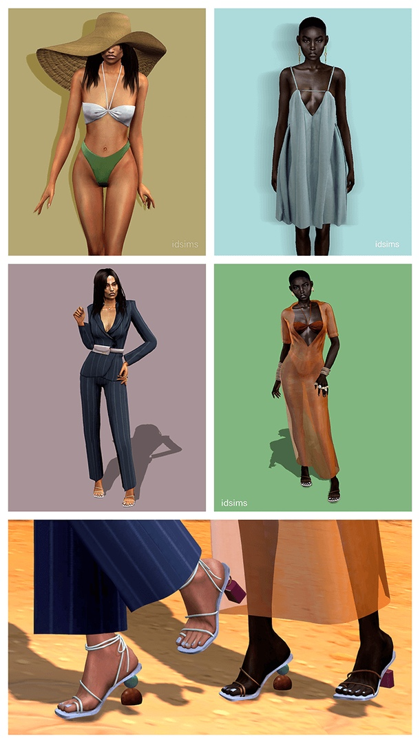 Jacquemus Part 1 by i-D sims