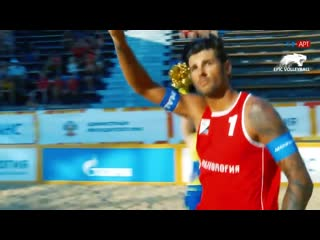 Beach volleyball (men) russian championship match for 1st place