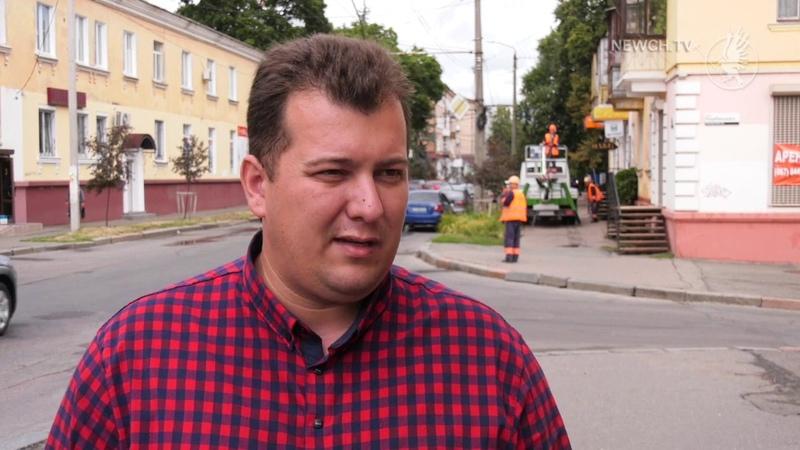 Чернігівські ремонти мереж вуличного освітлення Телеканал Новий Чернігів